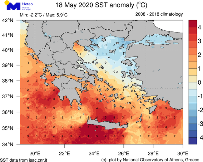 SST Ananomaly May18